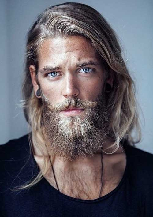 Hairstyles for Men with Long Hair-13