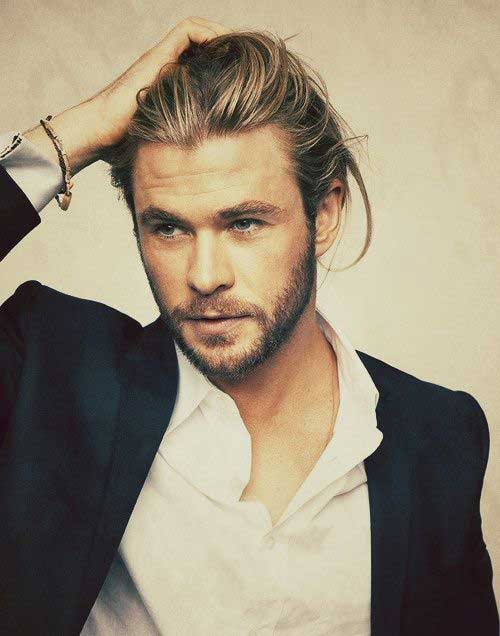 Hairstyles for Men with Long Hair-14