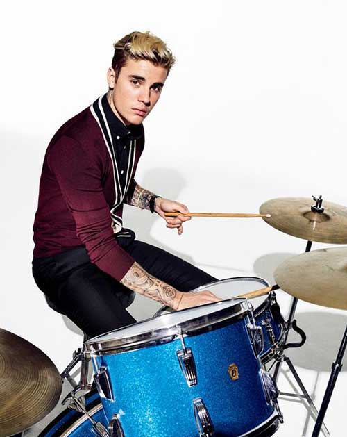 Justin Bieber Blonde Hair -14