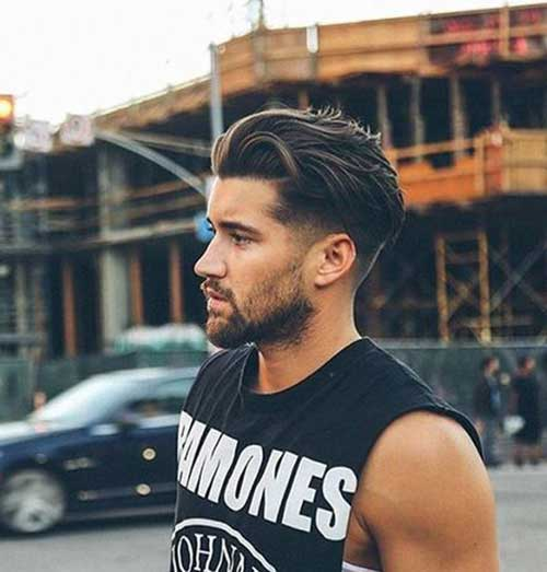 Long Top Hairstyles for Guys-14
