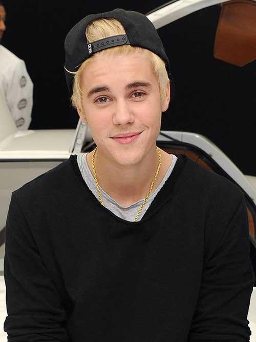 Justin Bieber Blonde Hair -15
