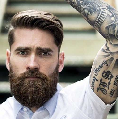 Full Beard Styles for Men-16
