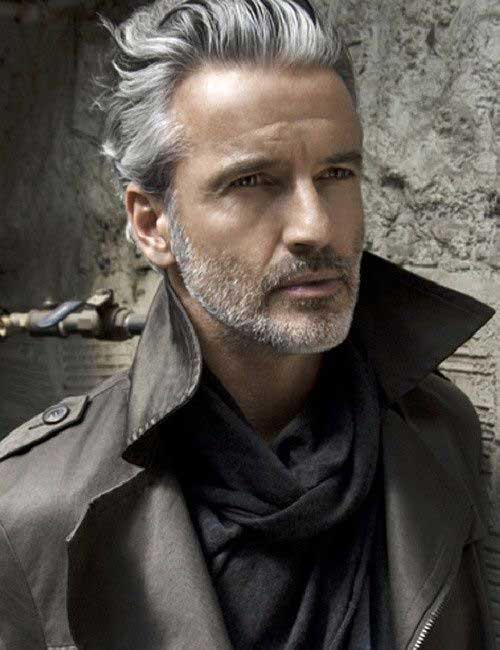 Hairstyles for Older Men-16