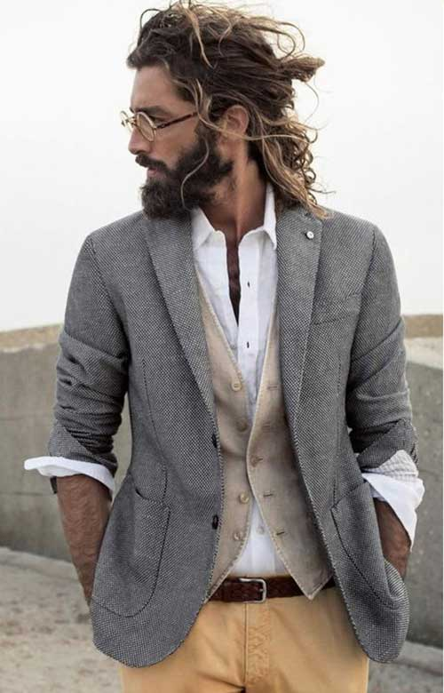 Hairstyles for Men with Long Hair-17