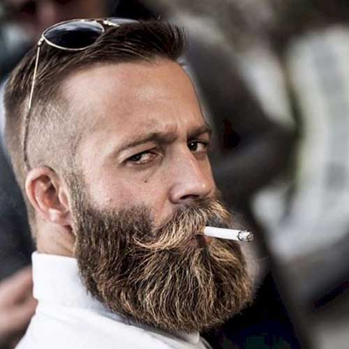 Full Beard Styles for Men-22