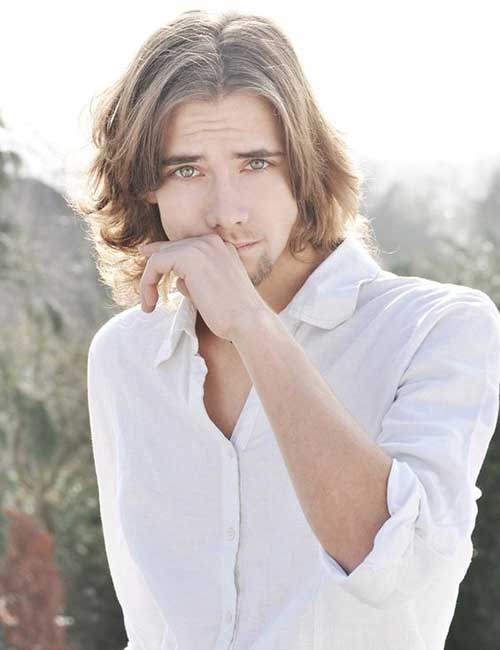 Hairstyles for Men with Long Hair-22