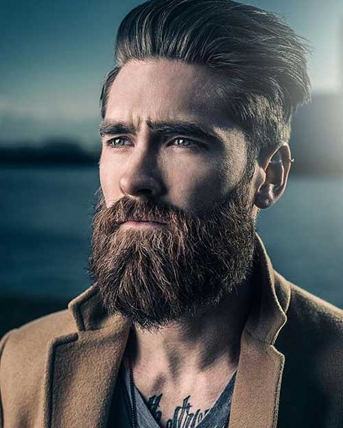 Full Beard Styles for Men-23
