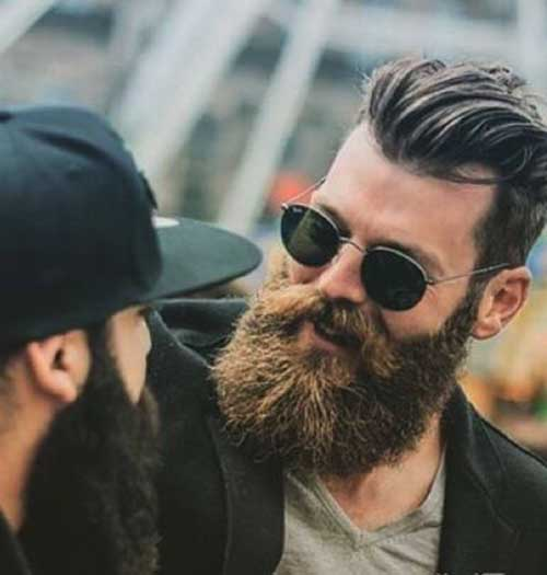 Full Beard Styles for Men-28