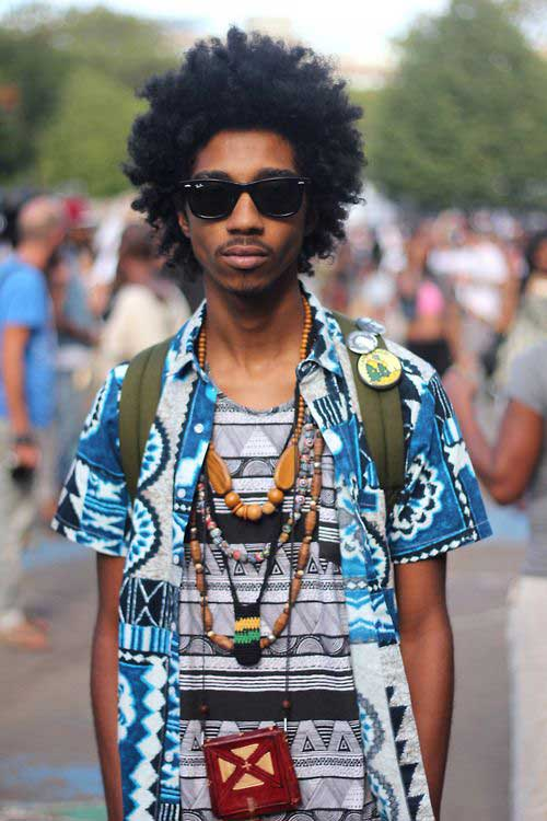 20 Best Afro Hairstyles Mens Hairstyles 2018