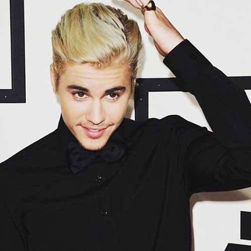 Justin Bieber Blonde Hair -7