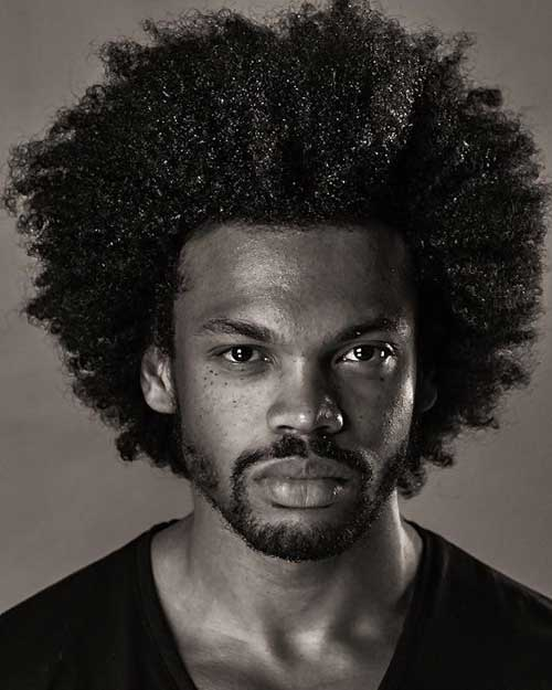 Afro Hairstyle For Men