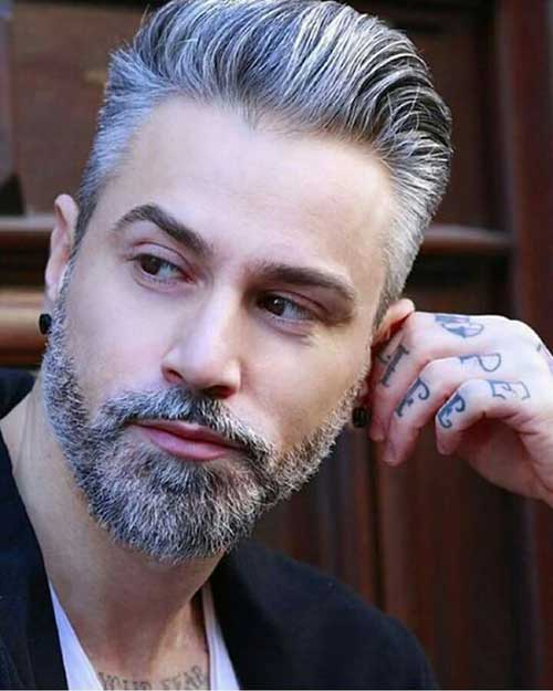 Grey Hair Styles for Guys