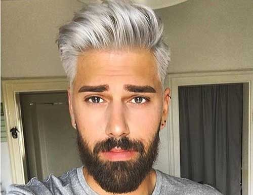 10 Best Men with Gray Hair | Mens Hairstyles 2018