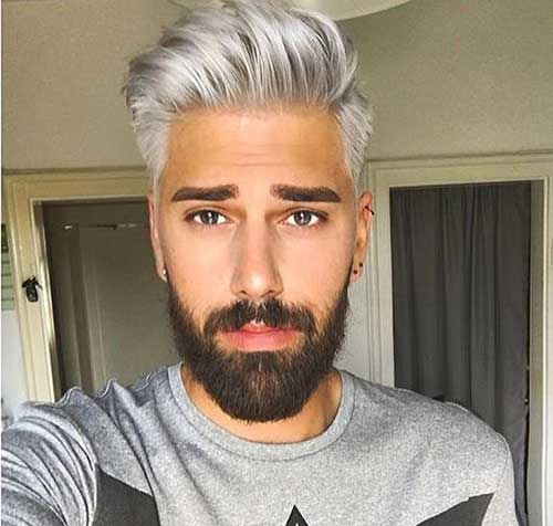 Grey Hairstyles for Guys
