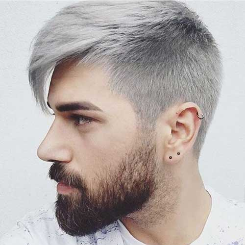 Guys Grey Hairstyles