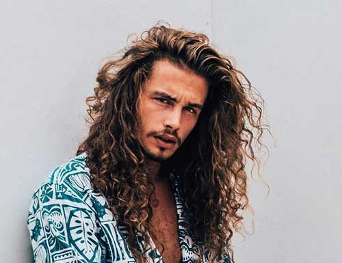 Long Mens Hair Styles: 15 Men's Shaved Hairstyles
