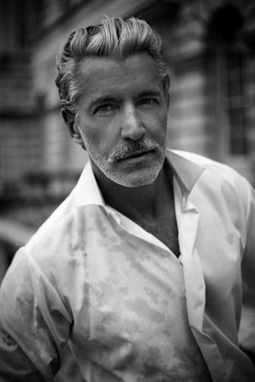 Awesome 15 Cool Hairstyles For Older Men Long Hairstyles Short Hairstyles Gunalazisus