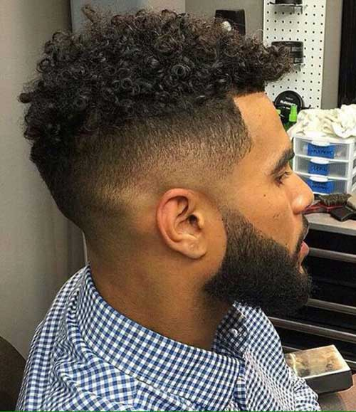 Fade Haircuts for Black Men-10