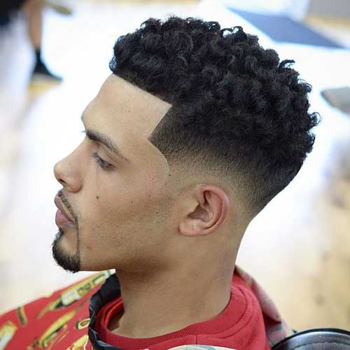 Fade Haircuts for Black Men-11