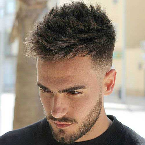 Mens Hairstyles for Thick Hair-11