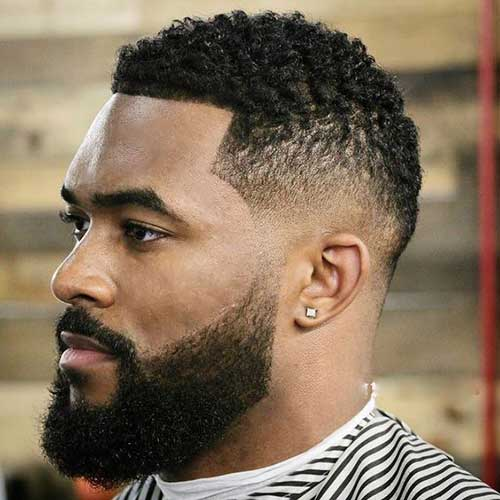 Fade Haircuts for Black Men-12