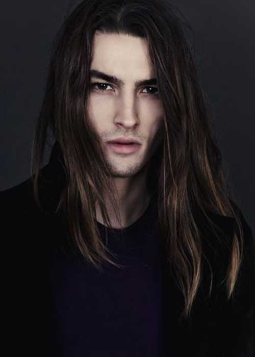 Long Hairstyles On Men-12