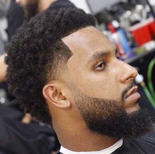 Fade Haircuts for Black Men-14