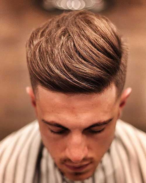 Medium Cut Hairstyles for Men-14