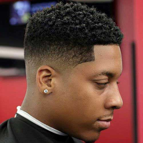 Fade Haircuts for Black Men-16