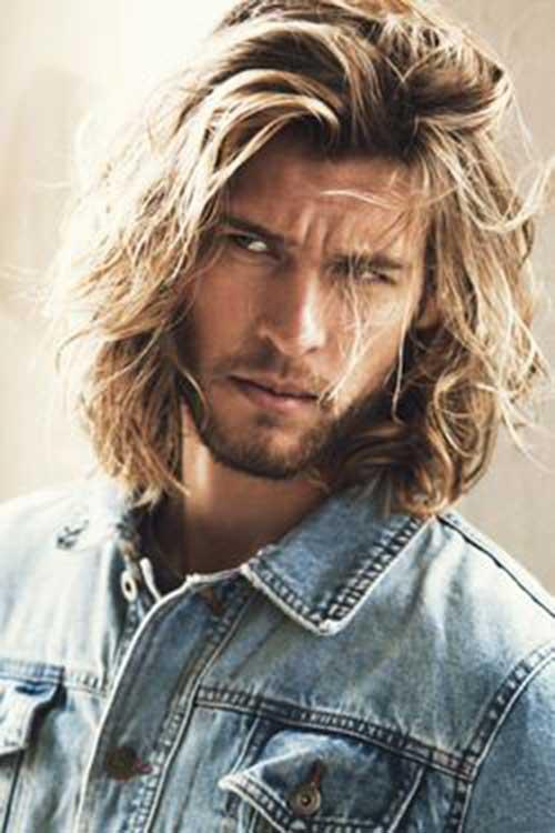 Long Hairstyles On Men-16