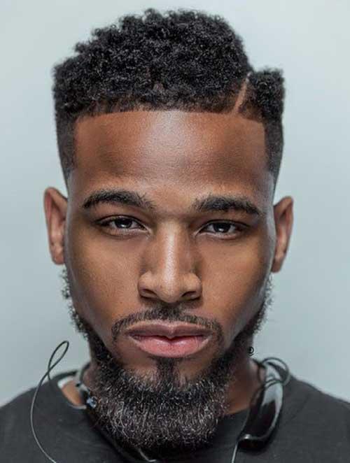 Fade Haircuts for Black Men-19