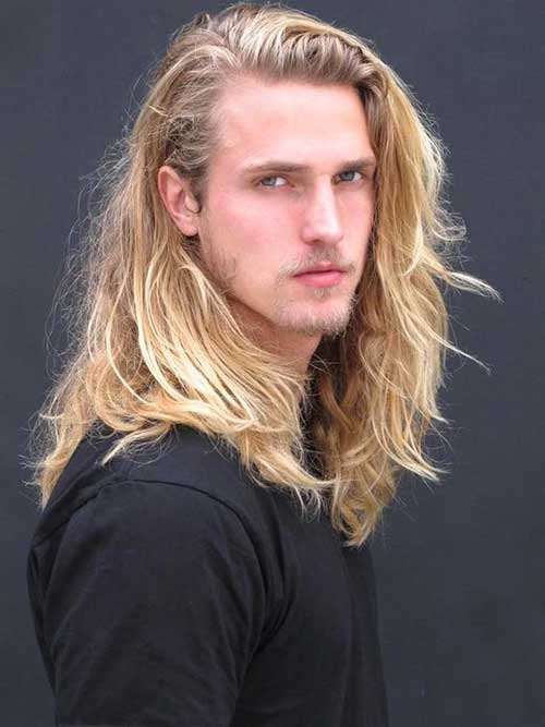Long Hairstyles On Men-19
