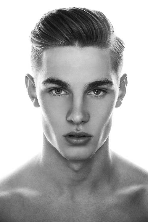 Sweet girl!! Men hair styles and facial structure