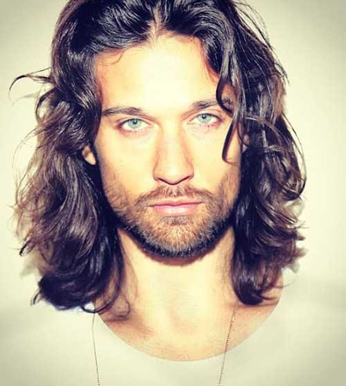 Long Hairstyles On Men-21