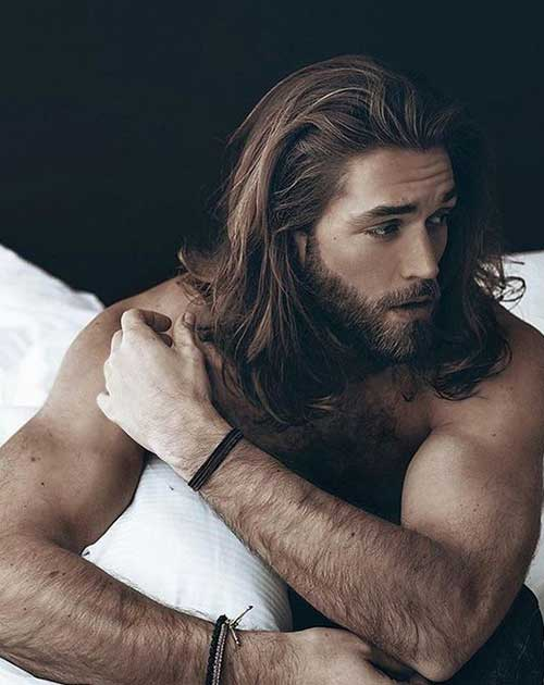 Long Hairstyles On Men-26