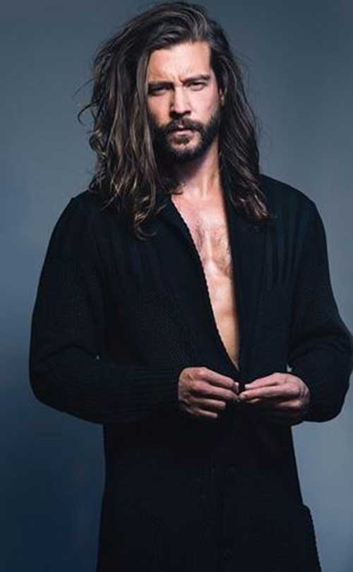 Long Hairstyles On Men-7