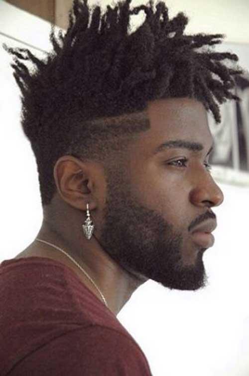 Fade Haircuts for Black Men-9