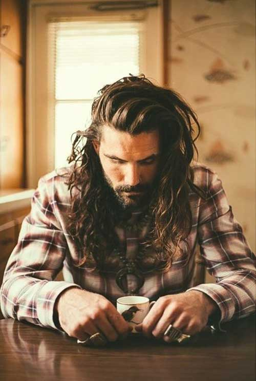 Long Hair for Men Tips
