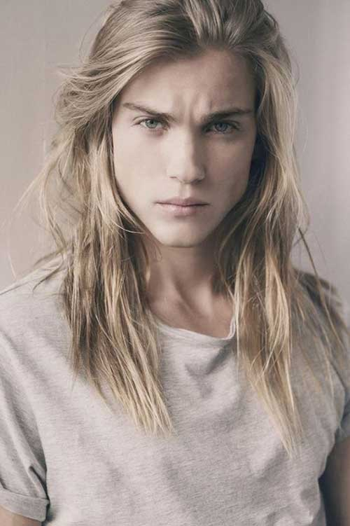 Mens Long Hairstyles for Thin Hair