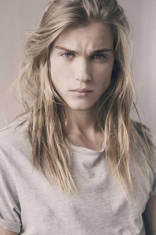 Mens Long Hairstyles for Thin Hair