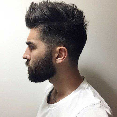 Thick Hair Styles for Men