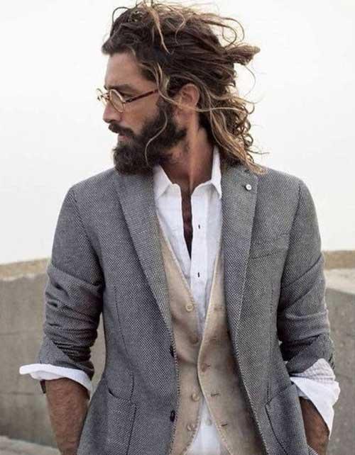 Long Hairstyles Men-11
