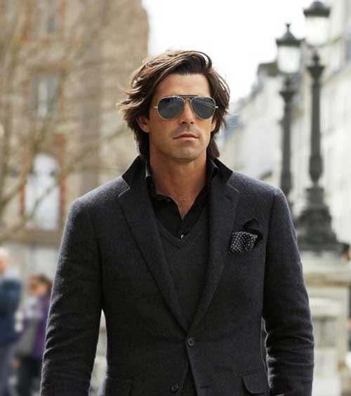 Long Hairstyles Men-14