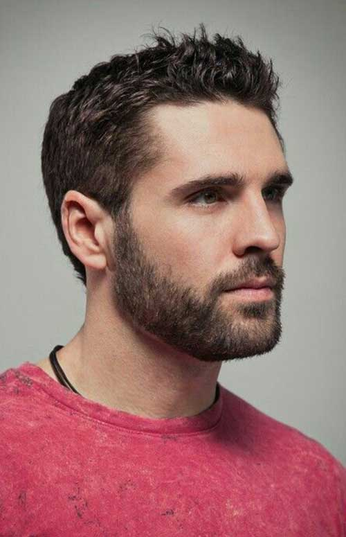 Short Bearded Men Styles-7