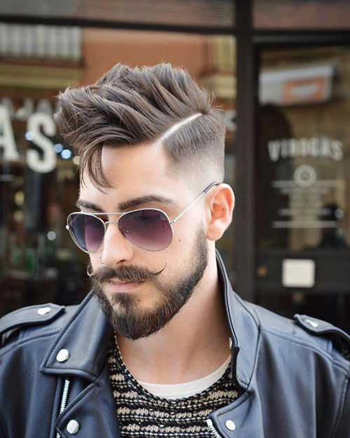Medium Haircuts for Guys-8