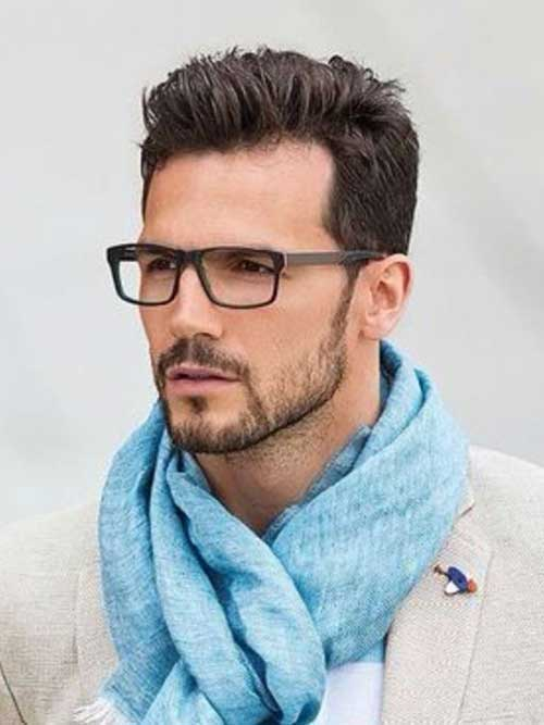 Short Bearded Men Styles-8