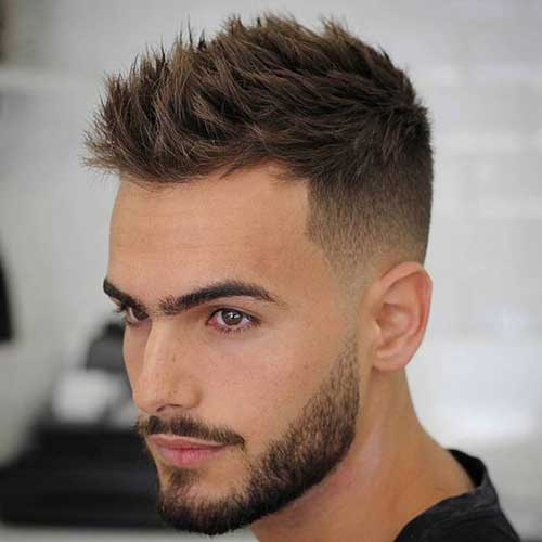 Short Bearded Men Styles-9