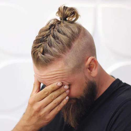 Braided Hair Styles for Men