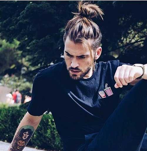 Men with Long Hairstyles