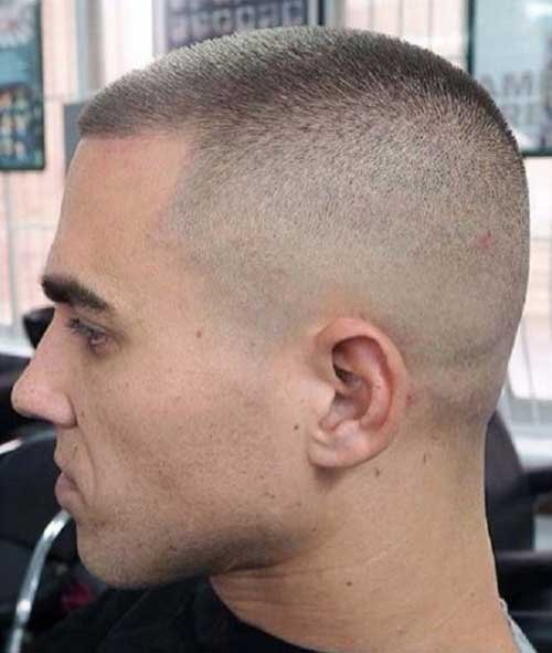 Army Short Haircuts for Men-11